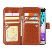 Fashion Luxury Wallet Case For Samsung Galaxy J310 J330 J530 Case Cover Flip Leather Phone Case Samsung J730 Mobile Phone Shell