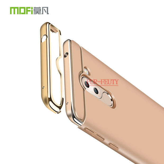 For Huawei Honor X6 BLN-L21 BLN-L22 BLN-L24 Case Luxury Original 3 In 1 PC Hard Back Cover For Huawei Honor 6X 6 X BLN L21 L22