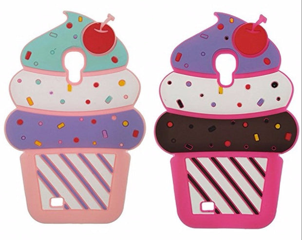 For Mei Zu M3 M5 Note MX5 MX6 Case M3s Mini M5/M5s/M5C Cute 3D Cherry Ice Cream Silicone Soft Protector Cases