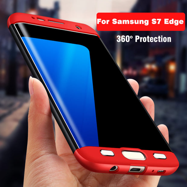 For Samsung Galaxy S7 Case Original OZOSARL Full Body 360 Full Protection Case Coque For Samsung Galaxy S7 Edge Case