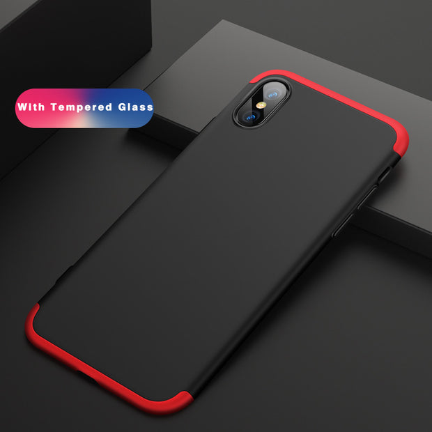 For IPhone X Case Original OZOSARL X Full Body 360 Full Protection Fundas Coque Rugged Case Shockfproof For IPhone X Case