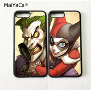 Joker And Harley BFF Best Friends Love Pair Soft Silicone Phone Cases For IPhone 5s Se 6 6s Plus 7 7plus 8 8plus X XR XS MAX