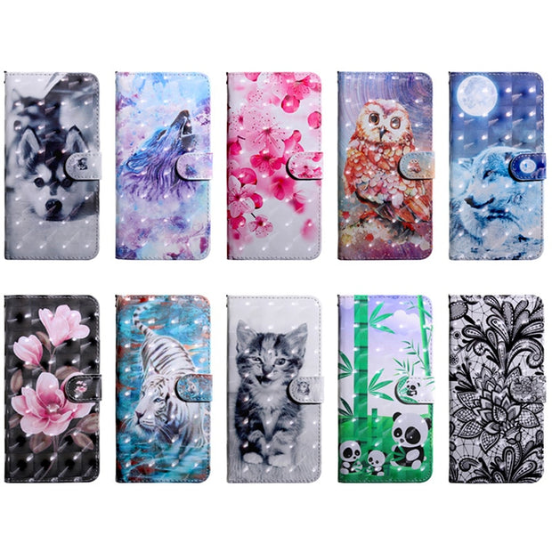 Luxury Full Protection PU Leather Phone Case For Xiaomi Redmi 6 Flip Coque Wallet Case For Xiomi Xiaomi Redmi 6A Cover