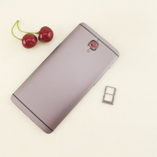 newest de2f0 5558d Ocolor For OnePlus 3 Battery Cover Protective Battery Back Cover + ...
