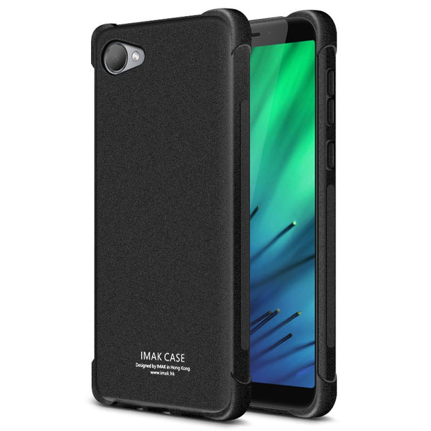 SFor HTC Desire 12 Case IMAK Shockproof Airbag Soft Silicon TPU Back Cover Case For HTC 12 Desire 12 Phone Cases