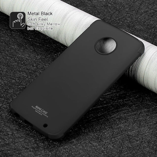SFor MOTO G6 Plus Case Silicone IMAK Shockproof Conner Airbags Soft TPU Back Cover Case For Motorola Moto G6 Plus Phone Cases