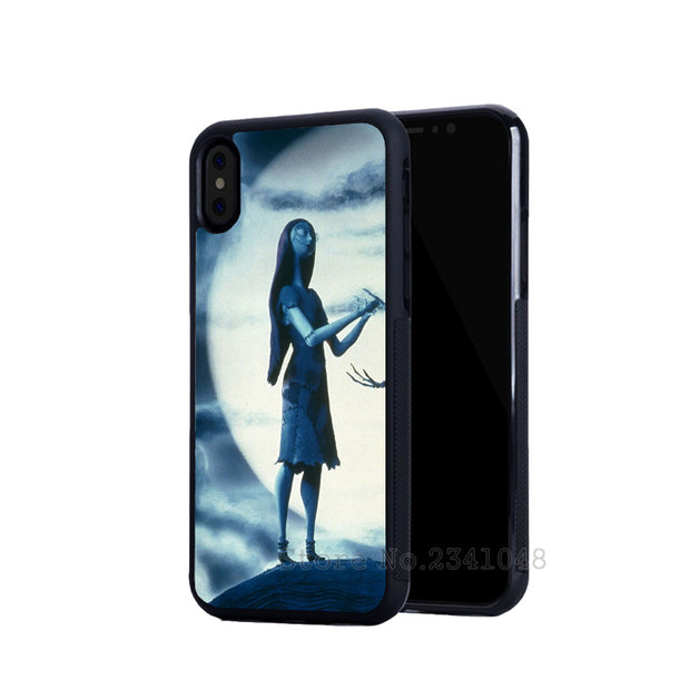 The Nightmare Before Christmas Best Friends Soft Silicone Phone Cases For IPhone 5s Se 6 6s Plus 7 7plus 8 8plus X XR XS MAX