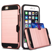 Vendita Calda Ultra Thin Aluminum Metal+ Wire Drawing Back Cover Case For IPhone 6 Plus & 6s Plus For Ipone I Phone Aifon Ifon