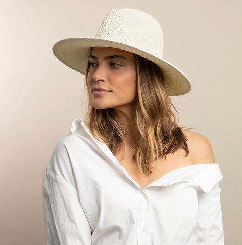 Vented Luxe Packable Straw Hat