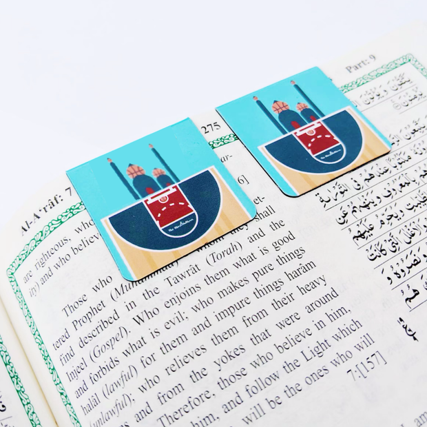 The 5 Point Play - Magnetic Bookmark For Your Quran