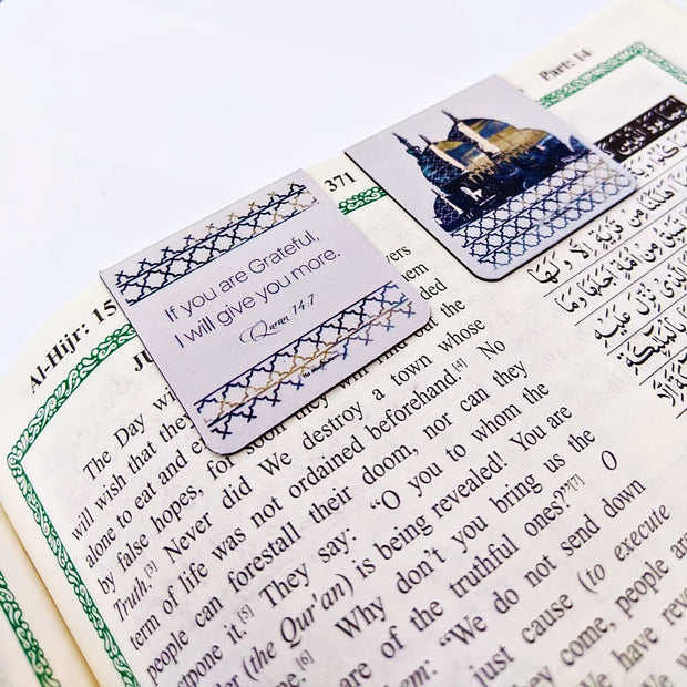 The World United - Magnetic Bookmark For Your Quran