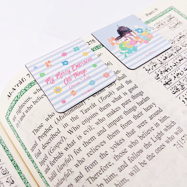 The Farthest Mosque for Girls - Magnetic Bookmark For Your Quran
