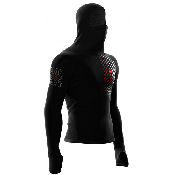 3D Thermo UltraLight Racing Hoodie Schwarz (3767204708416)