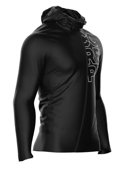 Compressport Hurricane Waterproof Jacke, schwarz