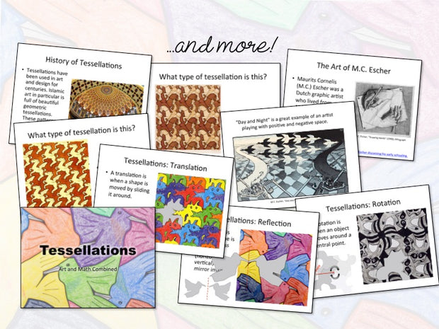 Art Lesson: Tessellations