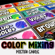 Color Mixing Poster Cards