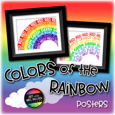 Colors of the Rainbow Posters