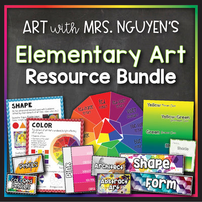 Elementary Art Resource Bundle