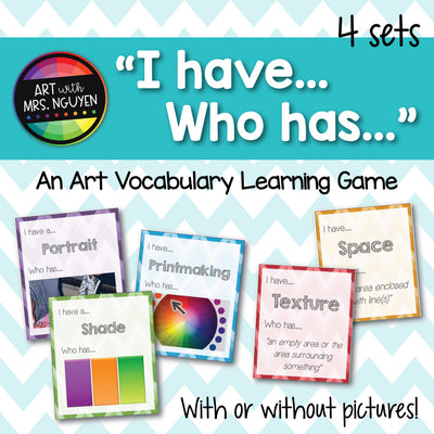 I have... Who has... (Elementary Art Learning Games)