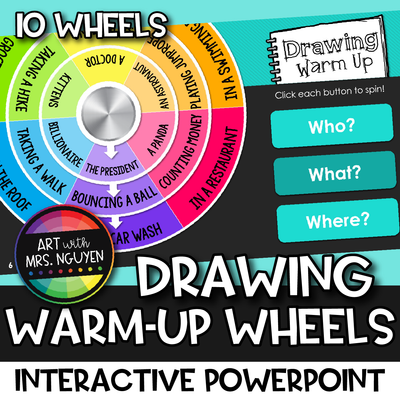 Drawing Warm-Up Wheels