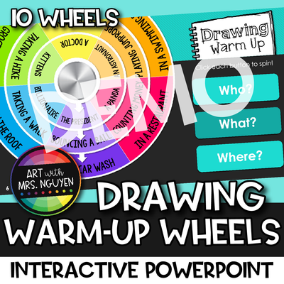 Drawing Warm-Up Wheels DEMO