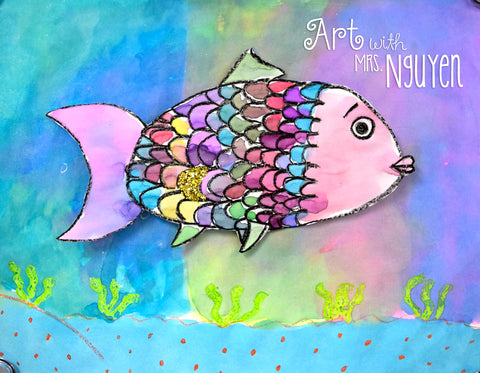 Art Lesson: The Rainbow Fish