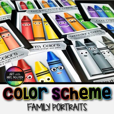 Color Scheme Family Portrait Posters