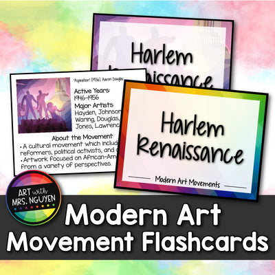 Modern Art Movement Flashcards