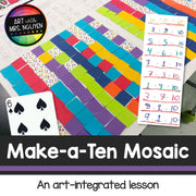 Make-a-Ten Mosaic - Arts Integration
