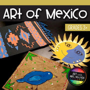 Art Lesson: Hispanic Heritage - Art of Mexico