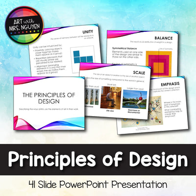 Principles of Design (Art) PowerPoint