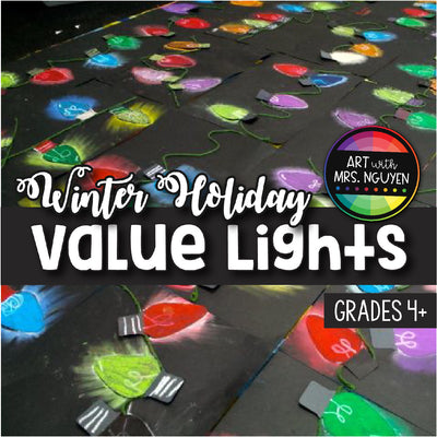 Art Lesson: Holiday Value Lights