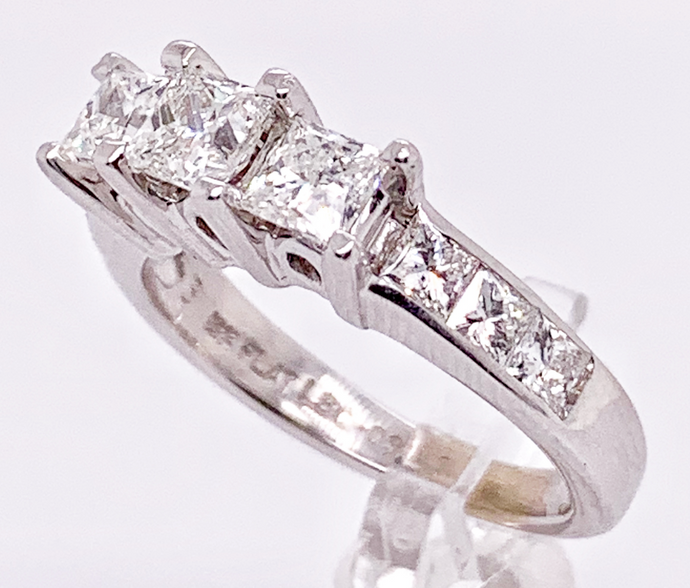 The Leo Platinum/18KW Diamond Ring