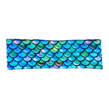 Women's Mermaid Scale Headband - Green, Blue & Purple