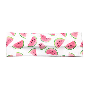 Women's Watermelon Slices Headband - White