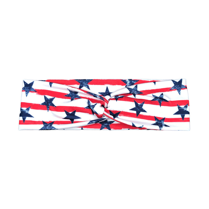 Women's Stars and Stripes Twist Headband