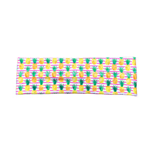 Women's Striped Pineapple Headband - Pink