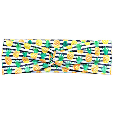 Women's Striped Pineapple Headband