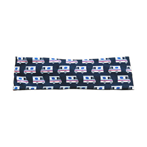 Mail Trucks Delivery Driver Knot Fabric Headband