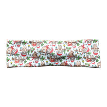 Christmas Sloths Knot Fabric Headband