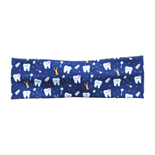 Blue Purple Happy Teeth Dental Headband