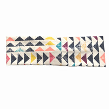 Geometric Triangle Fabric Headband