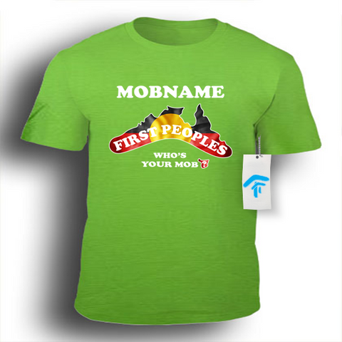 Kids Boomerang Mob - Sportage Surf Style Tee