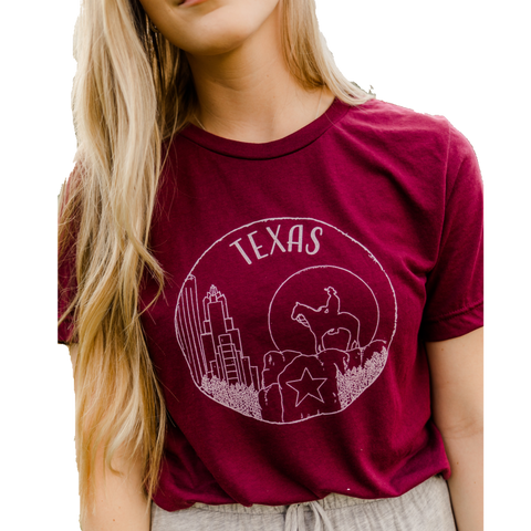 Texas T-Shirt, Unisex - Shop Back Home