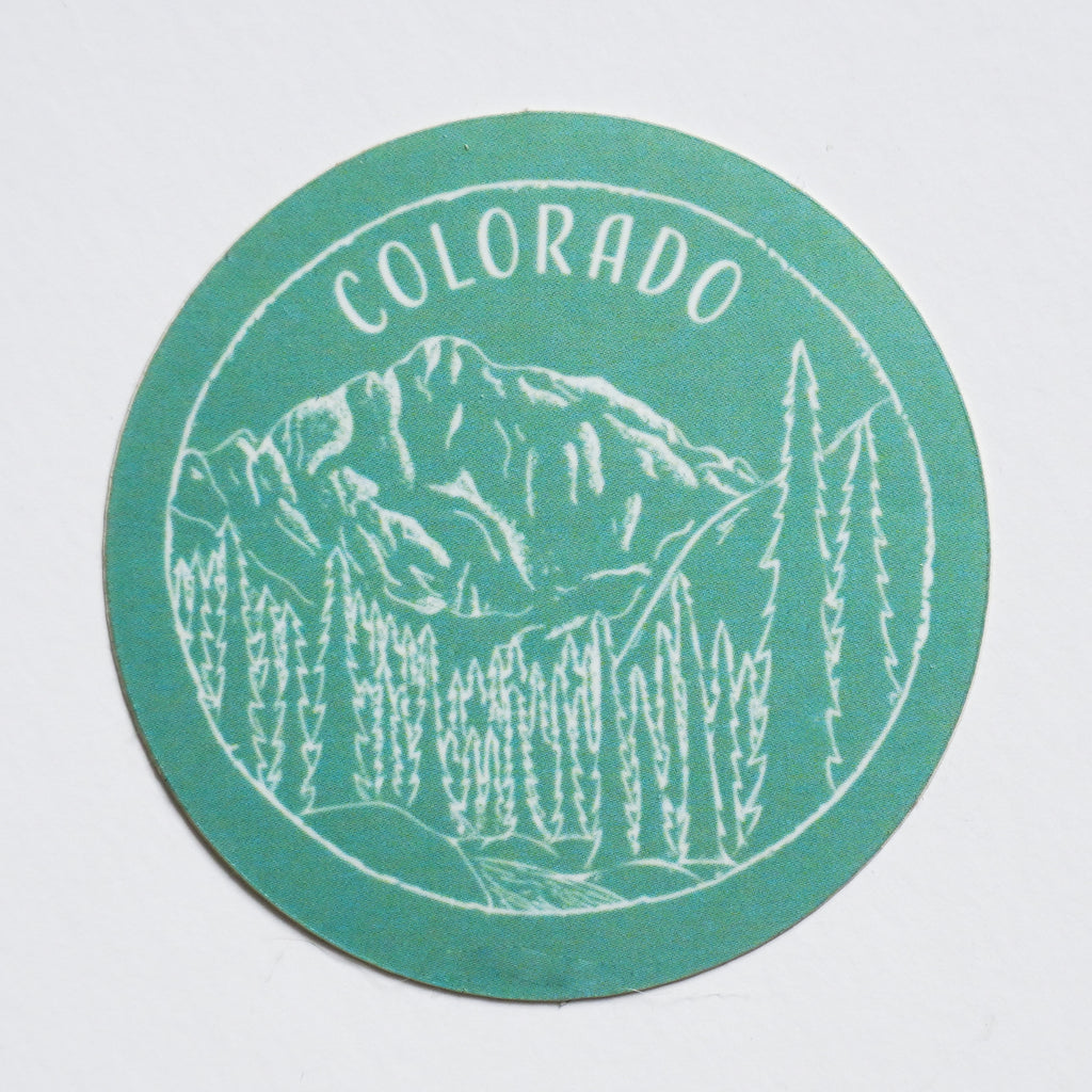 Colorado Sticker - Shop Back Home
