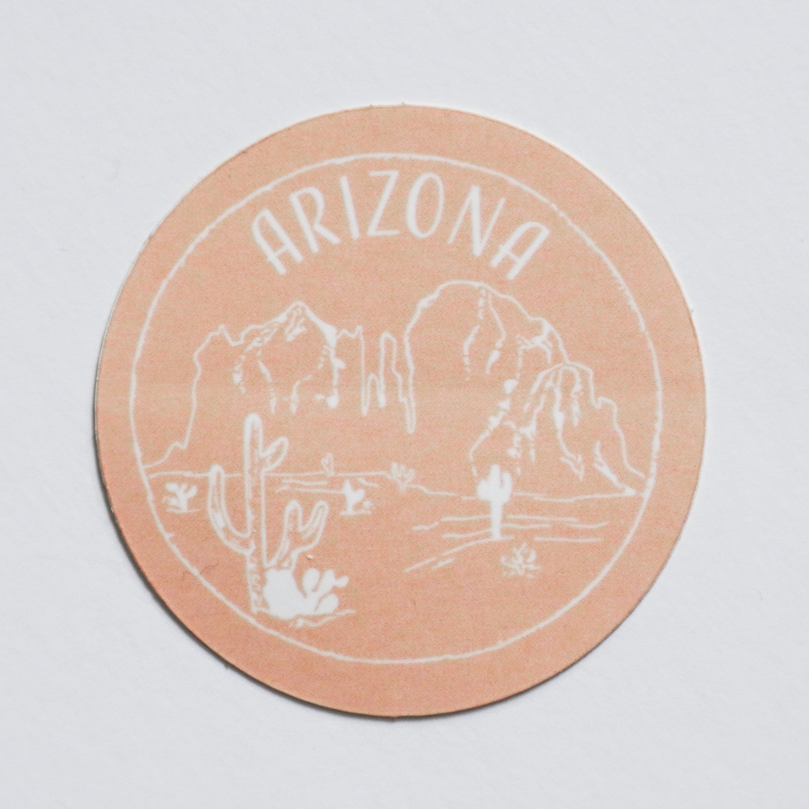 Arizona Sticker - Shop Back Home