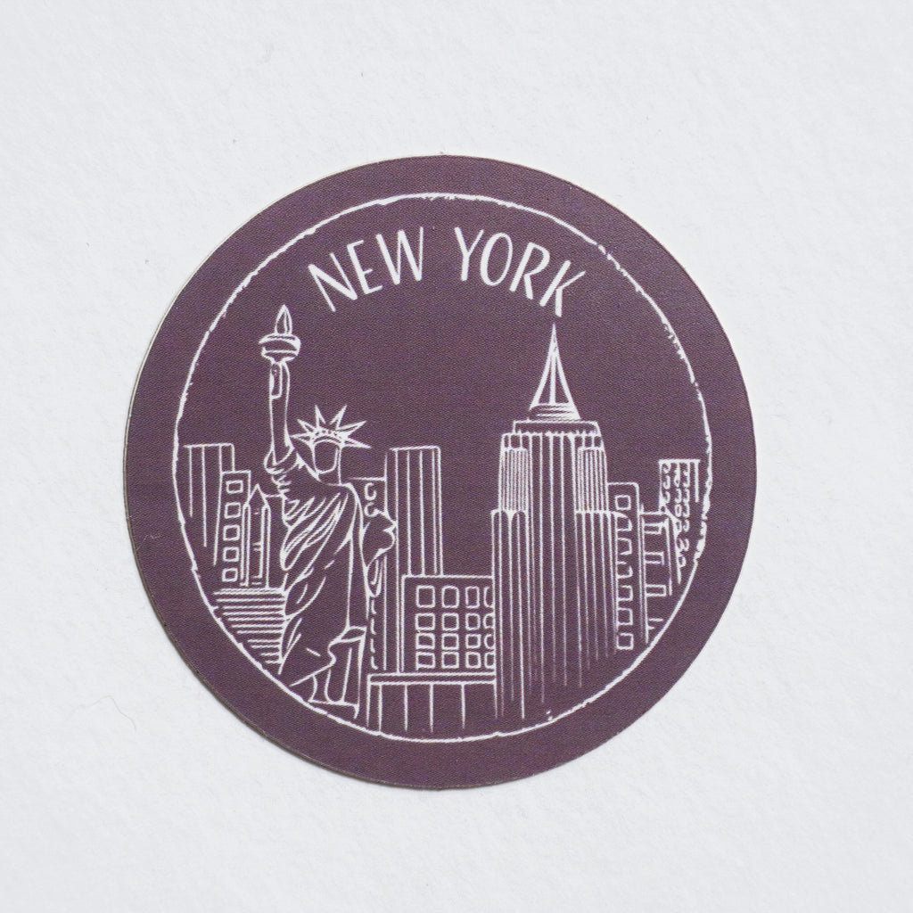 New York Sticker - Shop Back Home
