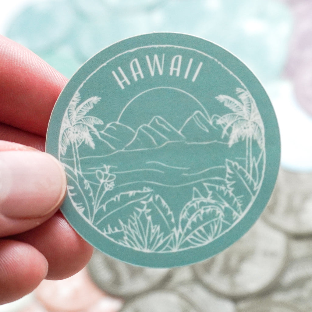 Hawaii Sticker - Shop Back Home