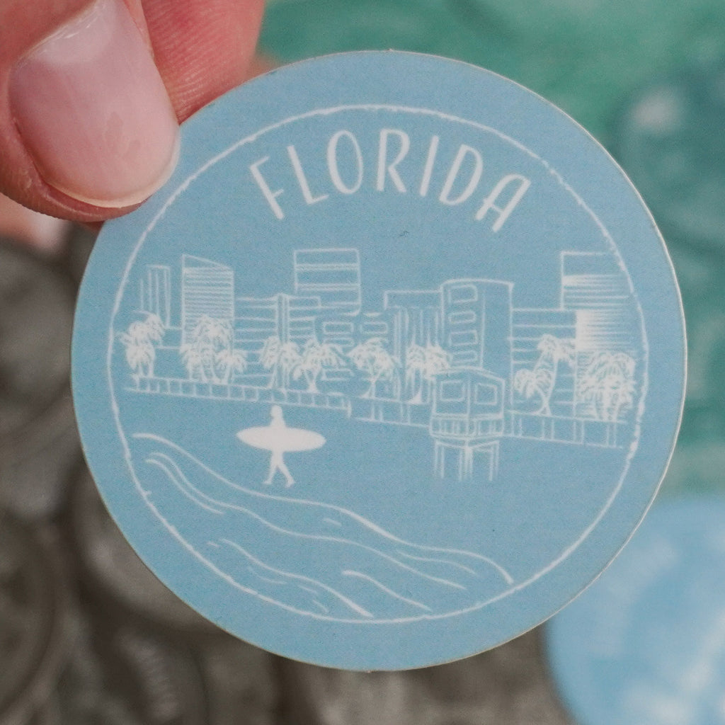 Florida Sticker - Shop Back Home