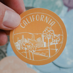 California Sticker - Shop Back Home